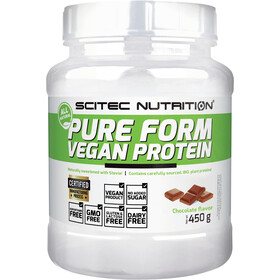 SCITEC Pure Form Vegan Protein Polvo 450g, Chocolate